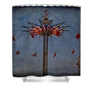 America Swings Shower Curtain