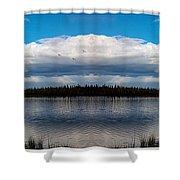 America The Beautiful 2 - Alaska Shower Curtain