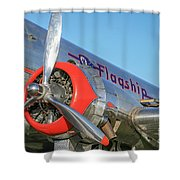 American Airlines Flagship Shower Curtain