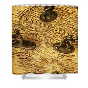 American Army  Shower Curtain