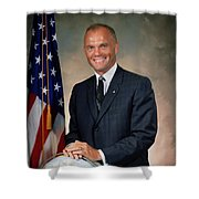 American Astonaut John Glenn Shower Curtain