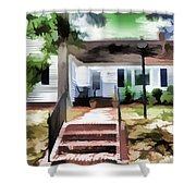 American Beautiful House Shower Curtain