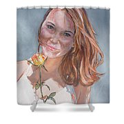 American Beauty Shower Curtain