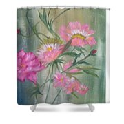 American Beauty Rose Shower Curtain