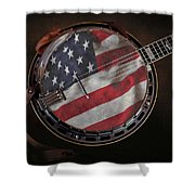 American Bluegrass Music Shower Curtain