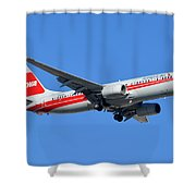 American Boeing 737-823 N915nn Phoenix Sky Harbor January 11 2015 Shower Curtain