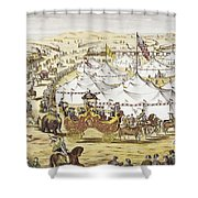 American Circus, C1874 Shower Curtain