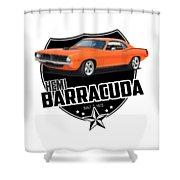 American 'cuda Shower Curtain