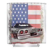 American Dream Machine Shower Curtain