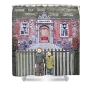 American Dreams Shower Curtain