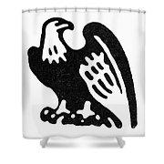 American Eagle, 1854 Shower Curtain