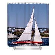 American Eagle Newport Ri Shower Curtain