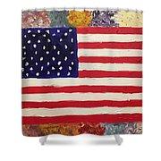 American Elegy Shower Curtain