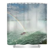 Horseshoe Waterfall At Niagara Falls Shower Curtain