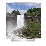 American Falls At Niagra Shower Curtain