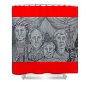 American Family? Shower Curtain