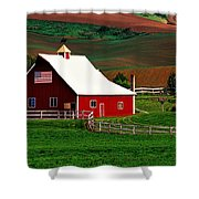 American Farm Shower Curtain