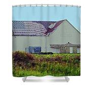 American Farm Shower Curtain
