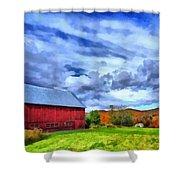 American Farmer Shower Curtain