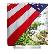 American Flag 1 Shower Curtain