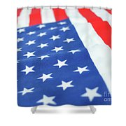 American Flag 2 Shower Curtain