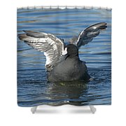 American Flapper Shower Curtain