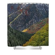 American Fork Canyon Shower Curtain
