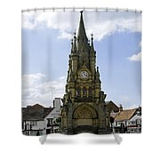 American Fountain - Stratford-upon-avon Shower Curtain