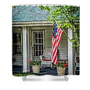 American Front Porch Shower Curtain