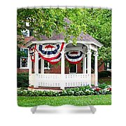 American Gazebo Shower Curtain