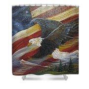 American Glory Shower Curtain