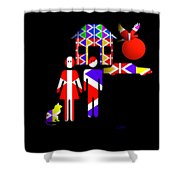 American Gothic Shower Curtain