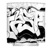 American Graffiti 1 Shower Curtain