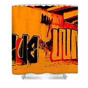 American Graffiti 3 - This Buds For You Shower Curtain