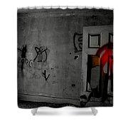 American Graffiti 6 - Virgin Sacrifice Shower Curtain