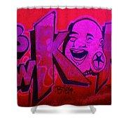 American Graffiti 7 The Star Gauger Shower Curtain