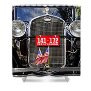 American Grill Shower Curtain