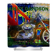 American Hellriders Shower Curtain