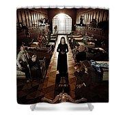 American Horror Story Asylum 2012 Shower Curtain