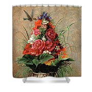 American Impressionist Painter Shower Curtain