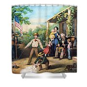 American Independence 1859 Shower Curtain