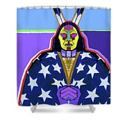 American Indian By Nixo Shower Curtain
