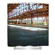 American Industry Shower Curtain