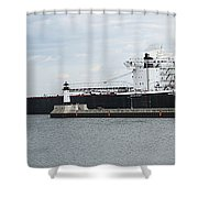 American Integrity Ship Shower Curtain