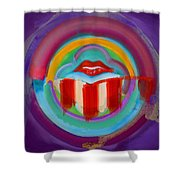 American Kiss Shower Curtain