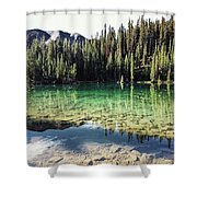 American Lake Shower Curtain