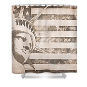 American Liberty Patriot Shower Curtain