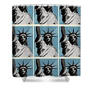 American Liberty Shower Curtain