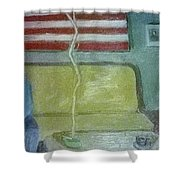 American Marriage Shower Curtain