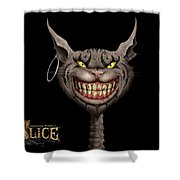 American Mcgee's Alice Shower Curtain
